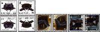 WWF, Летучие мыши, тет-беш, 8м; 22, 31, 45, 55c x 2