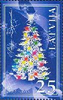 Новый Год и Рождество'08, 1м; 25c