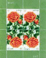 Флора, Розы, М/Л из 4м; 35c x 4