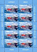 Вентспилсский свободный порт, М/Л из 10м; 35c x 10
