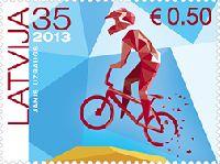 Велосипедный спорт в Латвии, 1м; 35с