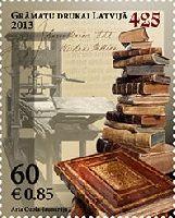 425 лет книгопечатания в Латвии, 1м; 60c
