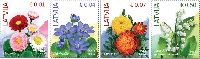 Стандарты, Цветы, 4м; 0.01, 0.04. 0.07, 0.50 Евро