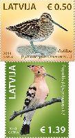 Фауна, Птицы, 2м; 0.50, 1.39 Евро