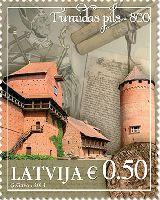 Турайдский замок, 1м; 0.50 Евро