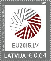 Председательство Латвии в ЕС, 1м; 0.64 Евро