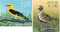 Фауна, Птицы, 2м; 0.71, 1.42 Евро