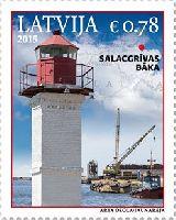Маяк Салацгриве, 1м; 0.78 Евро