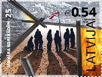 Январские баррикады 1991, 1м; 0.54 Евро
