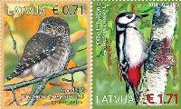 Фауна, Птицы, 2м; 0.71, 1.71 Евро