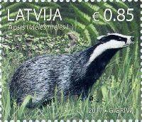 Фауна, Барсук, 1м; 0.85 Евро
