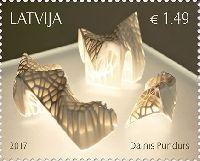 Современное искусство Латвии, Д. Пундурс, 1м; 1.49 Евро