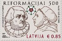 500y of Reformation, 1v; 0.85 EUR