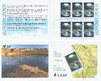 ЕВРОПА'01, буклет; 3.0 Лей x 6