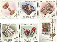 Русская эмаль, 5м + блок; 1000 руб х 3, 1500 руб х 2, 5000 руб