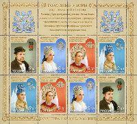 Русские традиционные головные уборы, М/Л из 2 серий