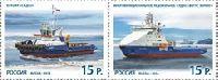 Морской флот России, 2м; 15.0 руб x 2