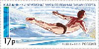 Чемпионат мира по водным видам спорта, Казань, 1м; 17.0 руб