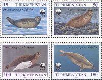 WWF, Тюлени, 4м; 15, 50, 100, 150 M