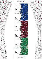 """Азиатские игры, Ашхабад'17, блок из 6м в обложке; """"A"""" х 6"""