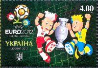 Чемпионат Европы по футболу, Украина/Польша'12, Талисманы, 1м; 4.80 Гр