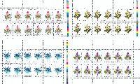 Флора Узбекистана, 4 М/Л из 12 серий