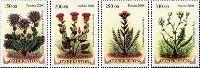 Флора Узбекистана, 4м; 150, 200, 250, 310 Сум